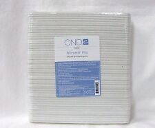 CND Creative Nail Design BLIZZARD FILE 100/180 White Grit 50pk