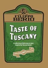 Filippo Berio TASTE OF TUSCANY Recipe Booklet Paperback Book Cuisine NEW