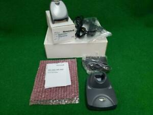 Honeywell 3820 Cordless Linear Image Barcode Scanner New!