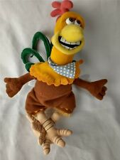 "Rocky Dreamworks Chicken Run Bean Bag Plush 10"" 2000 Playmates Toys"