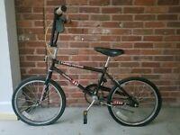 "Rare Vintage Old School 90's Magna Turbo Works Bmx 20"" Bike Bicycle - Needs TLC"