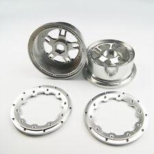 Front aluminium Alloy wheel rims for RV HPI Baja 5B SS 1/5