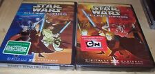 Star Wars - Clone Wars: Volume 1 and Volume 2 (DVD, 2005) BRAND NEW AND SEALED