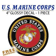U.S. Marine Corps Marines LARGE Vinyl Decal Glossy Sticker - 1 Piece