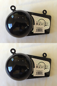 2 Pack of Yeck Finned Downrigger Weights 8 lb