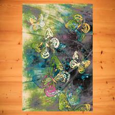 Kinderteppich Jugendteppich Junges Modernes Wohnen Schmetterlinge 3 Größen