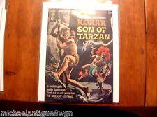 12c 1964 Gold Key #6 Korak Son Of Tarzan Comic High Grade Russ Manning Art