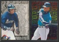 1995 FLEER ULTRA POWER PLUS #2 KEN GRIFFEY JR RARE NO FOIL FRONT/BACK ERROR CARD