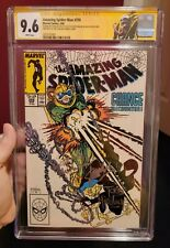 Spider-Man #298 CGC 9.6 Signed 3x Stan Lee, Todd McFarlane, Michelinie 1st VENOM