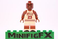 Custom Lego MICHAEL JORDAN Minifig NBA Basketball Chicago Bulls Air Jordan MJ
