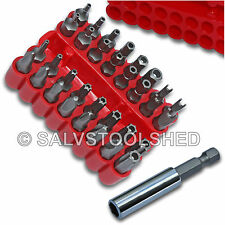 Security Bit Set with Holder for Drill Star Hex Spanner Torx Screwdriver Torq