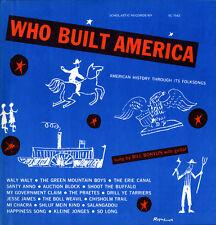 Bill Bonyun - Who Built America: History Through Folksongs [New CD]