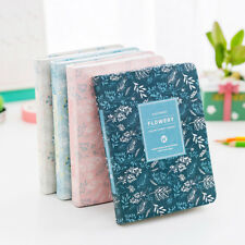 Kawaii flowery notebook  Weekly Monthly Work Notepad Planner Diary Agenda Memo a