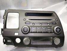 06-11 Honda Civic Radio Stereo MP3 CD Player 4BC4 Code 39100-SVA-A02