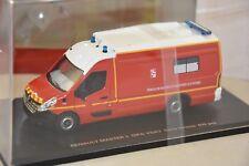 ALERTE 073 - RENAULT MASTER 3 GIFA SANICAR VSAV Pompiers 1/43