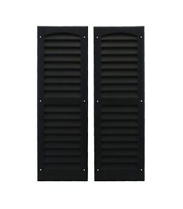 """Shed Shutters 9"""" x 27"""" One Pair 6 Colors Playhouse Storage Sheds Garages Coops"""