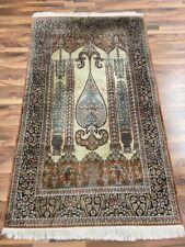 Kashmir Seide | 120 x 202 | Handgeknüpft | Orientteppich | Carpet | Rug