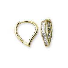 Hoop Love & Hearts Round Costume Earrings