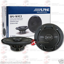 "BRAND NEW ALPINE 6"" 6-INCH 2-WAY CAR AUDIO COAXIAL SPEAKERS (PAIR)"