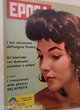EPOCA 26 giugno 1960 Joan Collins Simone Signoret Edith Piaf Allen Dulles Tandoy