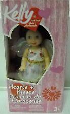 #5217 NRFB Mattel 2005 Valentine Hearts & Kisses Princesa de Corazones Kelly