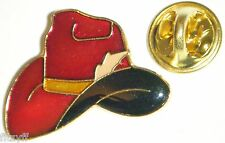 Cowboy Hat Lapel Tie Hat or Cap Pin Badge Country & Western Stetson Brooch