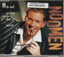 (985L) Noomen, Ik Wil Graag Dat Je Weet - 1998 CD
