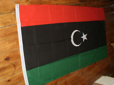 OLD 1951-69 OPPOSITION LIBYA FLAG FLAGS 5'X3' BRAND NEW