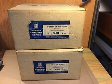 """Matched Pair Jensen W-120 C7702 12"""" Woofers Speakers 8-ohm 1964 IN BOXES NOS?"""