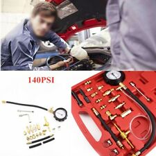 Petrol Diesel Fuel Pressure Gauge Tester Fuel Diagnostic Tool Kit 140PSI