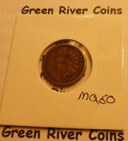 1860  CN   Indian Head Penny Cent  Coin  #MQ60  better grade