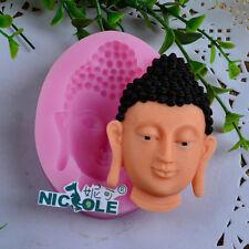 Nicole Figure Of Buddha Resin Crafts Molds Sugar Fondant Cake Decoration Molds