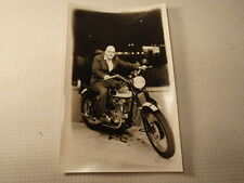Vintage British Triumph Motorcycle Motorcycle - Unused.  Old Advertising?