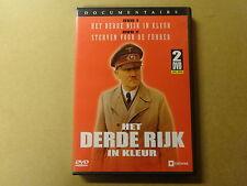 2-DISC DVD / HET DERDE RIJK IN KLEUR - STERVEN VOOR DE FUHRER