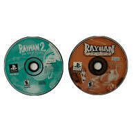 Rayman Rush Bundle 1 And 2 Sony PlayStation 1, 2002) PS1 Black Label