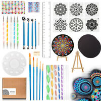 Mandala Rock Dotting Tools Kit Painting Coloring Drawing Drafting Brushes Art