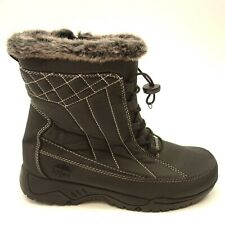 b5a3c98276bc Totes Lisa Sz 8 Warm Faux Fur Insulated Waterproof Winter Snow Womens Boots