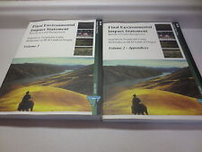 Vegetation Treatments Using Herbicides on BLM Lands in Oregon volumes 1 and 2