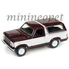 RACING CHAMPIONS RC006 24B 1980 FORD BRONCO 1/64 DIECAST MODEL BURGUNDY