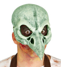 Bird Skull Mask Medieval Black Death Dead Scary Halloween Fancy Dress Masque NEW