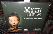 NEW MYTH PERCEPTIONS - STRAIGHT FROM JESUS' MOUTH DVD, COMPASS FELLOWSHIP, NIP