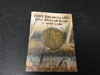 1995 RAM $1 UNC (Waltzing Matilda 'S' Mintmark)
