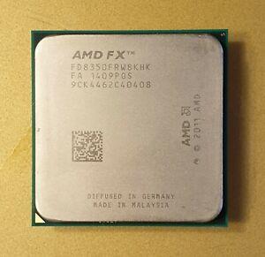 AMD FX-8350 - 4GHz  Processore AM3+ 8 Core FD8350FRW8KHK