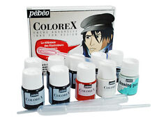 Pebeo Colorex Liquid Watercolour Ink 8 x 20ml & Drawing Gum Illustrator Set