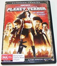 PLANET TERROR- (Extended Version)---( Dvd 2 Disc Set)