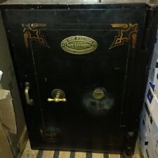 Antique Safe With 2 Keys In Working Order - Very Large And Heavy