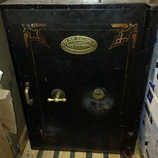 Antico al sicuro con 2 chiavi FUNZIONANTE-molto grandi e pesanti