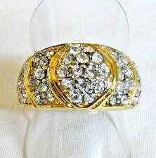 Modeschmuck-Ringe im Band-Stil aus Rhodium