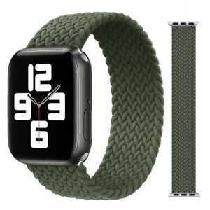 Braided Solo Loop Strap Compatible with Apple Watch 6/5/4/3/2/1/SE for 38/40mm