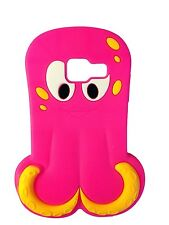 Hot Pink Octopus / Squid Soft Silicone Case for Samsung Galaxy Ace Duos S6802